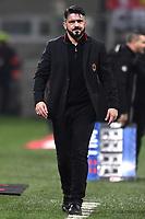 Gennaro Gattuso Milan <br /> Milano 27-12-2017 Stadio Giuseppe Meazza in San Siro Calcio Coppa Italia Milan - Inter foto Image Sport/Insidefoto
