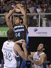 Auckland-Basketball, Breakers v Blaze