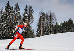 March 9, 2019 - –Stersund, Sweden - 190309 Scott Gow of Canada competes in the Men's 10 KM sprint during the IBU World Championships Biathlon on March 9, 2019 in Östersund..Photo: Petter Arvidson / BILDBYRÃ…N / kod PA / 92252 (Credit Image: © Petter Arvidson/Bildbyran via ZUMA Press)