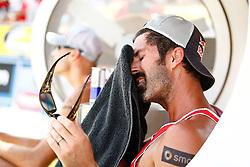 07.08.2011, Klagenfurt, Strandbad, AUT, Beachvolleyball World Tour Grand Slam 2011, im Bild Todd Rogers (USA), EXPA Pictures © 2011, PhotoCredit: EXPA/ Erwin Scheriau