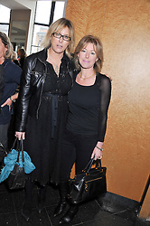 Left to right, SHONA STOFORD-SACKVILLE and EMMA WILLIS at a ladies lunch in support of Maggie's Barts hosted by Judy Naake, Clara Weatherall and Caroline Collins at Le Cafe Anglais, 8 Porchester Gardens, London W2 on 19th March 2013.