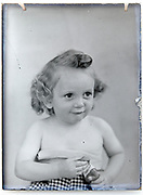 toddler portrait France, circa 1930s