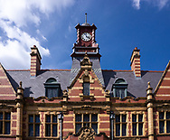 Victoria Baths is a Grade II* listed building, in the Chorlton-on-Medlock area of Manchester, in northwest England. The Baths opened to the public in 1906 and cost &pound;59,144 to build. Manchester City Council closed the baths in 1993 and the building was left derelict. A multimillion-pound restoration project began in 2007.<br /> Photo&copy;Steve Forrest/Workers' Photos