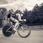 Angela Naeth at mile 35 of the bike at Ironman Chattanooga.