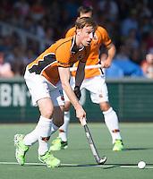 AMSTELVEEN  -  Hockey -  Rob Reckers van OZ.       Beslissende finalewedstrijd om het Nederlands kampioenschap hockey tussen de mannen van Amsterdam en Oranje Zwart (2-3). COPYRIGHT KOEN SUYK