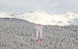 19.12.2011, Casino Arena, Seefeld, AUT, FIS Nordische Kombination, DKB FIS Weltcup Skispringen TEAM HS 109 Ski Sprung, im Bild Gudmund Storlien (NOR) // Gudmund Storlien of Norway during Ski jumping at FIS Nordic Combined World Cup in Seefeld, Austria on 20111211. EXPA Pictures © 2011, PhotoCredit: EXPA/ P.Rinderer