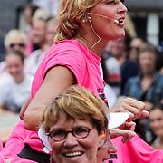 NLD/Amsterdam/20120804 - Canalparade tijdens de Gaypride 2012, Olga Commandeur