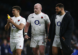 March 9, 2019 - London, England, United Kingdom - L-R Ben Youngs of England and Dan Cole of England.during the Guinness 6 NatiL-R Ben Youngs of England and \e18ons Rugby match between England and Italy at Twickenham  stadium in Twickenham  England on 9th March 2019. (Credit Image: © Action Foto Sport/NurPhoto via ZUMA Press)