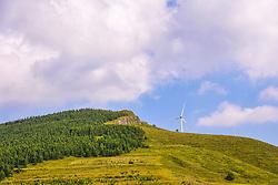 June 13, 2017 - Zhang Jiakou, Zhang Jiakou, China - Zhangjiakou, CHINA-June 13 2017: (EDITORIAL USE ONLY. CHINA OUT)..Summer scenery of the area located between Inner Mongolia and north China's Hebei Province, June 13th, 2017. (Credit Image: © SIPA Asia via ZUMA Wire)