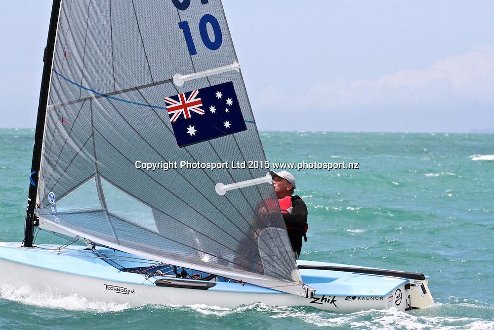 Race 7 Finn Gold Cup Takapuna - Jphn Condie (AUS)