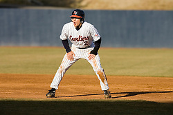 Virginia Cavaliers infielder Greg Miclat (2) in action against VMI.  The Virginia Cavaliers Baseball Team defeated the Virginia Military Institute Keydets 5-3 at Davenport Field in Charlottesille, VA on February 27, 2007.