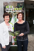 300 Businesses Expected to Attend West of Ireland&rsquo;s Largest Business Networking Event<br />  Registration is now open for MeetWest 2014, the largest business networking event in the West of Ireland this year. <br /> Hosted by Galway City Council, MeetWest 2014 is a two-day business networking forum taking place at the Galway Bay Hotel, Salthill, Galway on November 20th and 21st 2014.<br /> Pictured at the launch of MeetWest2014 in City Hall, Galway were Una Ni Chuinn, Roscommon County Council;  Louise Ward, Roscommon Local Enterprise Office.<br />  . Photo:Andrew Downes