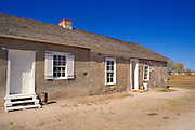 The post trader's store at Fort Laramie, Fort Laramie National Historic Site, Wyoming