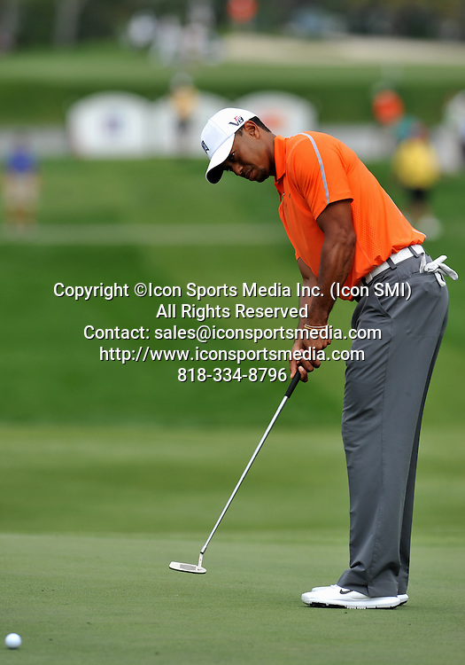 22 March 2013: Tiger Woods during the second round of the Arnold Palmer Invitational at Arnold Palmer's Bay Hill Club & Lodge in Orlando, Florida.Orlando, Florida.