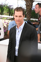 Matthew Mcconaughey, at The Paperboy photocall at the 65th Cannes Film Festival France. Thursday 24th May 2012 in Cannes Film Festival, France.