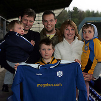 St Johnstone players sponsors evening..26.04.05<br />