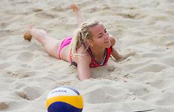 Sara Sakovic  during Slovenian National Championship in beach volleyball Kranj 2012, on June 29, 2012 in Kranj, Slovenia. (Photo by Vid Ponikvar / Sportida.com)