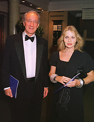 LORD & LADY WEINBERG at a dinner in London on 19th May 1999.MSF 65