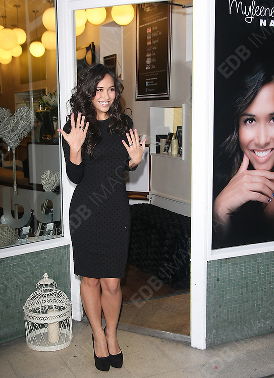 15.NOVEMBER.2011. LONDON<br /> <br /> MYLEENE KLASS ATTENDS HER POP UP BOUTIQUE LAUNCH IN LONDON<br /> <br /> BYLINE: EDBIMAGEARCHIVE.COM<br /> <br /> *THIS IMAGE IS STRICTLY FOR UK NEWSPAPERS AND MAGAZINES ONLY*<br /> *FOR WORLD WIDE SALES AND WEB USE PLEASE CONTACT EDBIMAGEARCHIVE - 0208 954 5968*