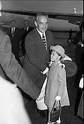 Princess Grace & Prince Rainier arrive at Dublin Airport..20.08.1963..
