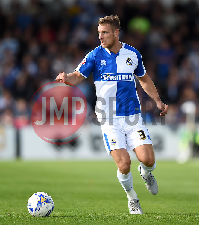 Lee Brown of Bristol Rovers - Mandatory by-line: Paul Knight/JMP - Mobile: 07966 386802 - 12/09/2015 -  FOOTBALL - Memorial Stadium - Bristol, England -  Bristol Rovers v Accrington Stanley - Sky Bet League Two