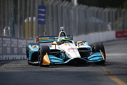 July 14, 2018 - Toronto, Ontario, Canada - CONOR DALY (88) of the United States takes to the track to practice for the Honda Indy Toronto at Streets of Toronto in Toronto, Ontario. (Credit Image: © Justin R. Noe Asp Inc/ASP via ZUMA Wire)
