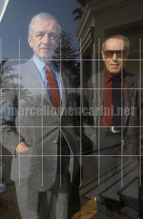 Italian writers Carlo Fruttero and Franco Lucentini, about 1988 / Gli scrittori Carlo Fruttero e Franco Lucentini, 1988 circa - © Marcello Mencarini