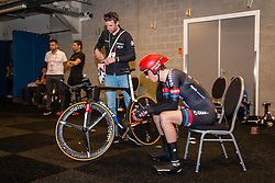 HAGA Chad from United States of Team Giant - Alpecin (GER) before the start at velodrome Omnisport, stage 1 (ITT) from Apeldoorn to Apeldoorn running 9,8 km of the 99th Giro d'Italia (UCI WorldTour), The Netherlands, 6 May 2016. Photo by Pim Nijland / PelotonPhotos.com | All photos usage must carry mandatory copyright credit ( Peloton Photos | Pim Nijland)
