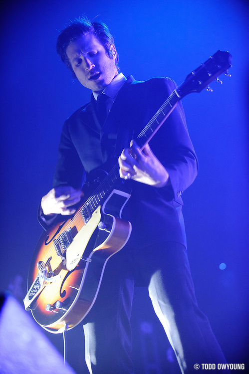 Photos of the band Interpol performing on February 11, 2011 at the Pageant in St. Louis.