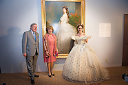 Prinses Margriet verricht opening tentoonstelling 'Sisi, sprookje & werkelijkheid' te Paleis het Loo
