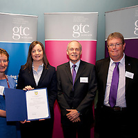 Images from the 2014 GTSC Probabtion Event Pictured are Jackie Brock (Chief Executive of Children First), Lynne Doyle (East Dunbartonshire,,Ken Muir (Chief Executive GTCS) and Derek Thompson (Convener GTCS). Thursday 12th June 2014.