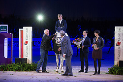 Will David (GER) - Colorit <br /> Winner of the Rolex FEI World Cup presented by Swiss Sense<br /> CSI-W 'sHertogenbosch 2013<br /> © Dirk Caremans