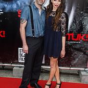NLD/Almere/20140609 - Premiere Stuk de film, Judith Visser en partner .....