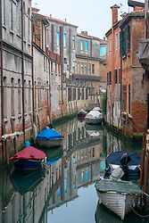 A view of a canal in Venice. From a series of travel photos in Italy. Photo date: Sunday, February 10, 2019. Photo credit should read: Richard Gray/EMPICS Entertainment