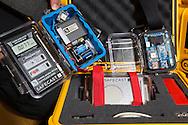Geigermätare hos Safe Cast i Tokyo, Japan