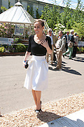 TARA PALMER-TOMPKINSON, PRESS PREVIEW. The RHS Chelsea Flower Show 2011. The Royal Hospital grounds. Chelsea. London. 23 May 2011. <br /> <br />  , -DO NOT ARCHIVE-© Copyright Photograph by Dafydd Jones. 248 Clapham Rd. London SW9 0PZ. Tel 0207 820 0771. www.dafjones.com.