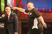 Mervyn King during the First Round of the BetVictor World Matchplay Darts at the Empress Ballroom, Blackpool, United Kingdom on 19 July 2015. Photo by Shane Healey.