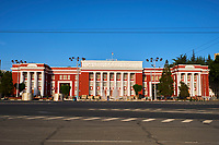 Tadjikistan, Douchanbé, parlement du Tadjikistan // Tajikistan, Douchanbe, Tadjikistan parliament