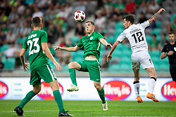 Declan Caddell of FC Crausaders during 1st Leg football match between NK Olimpija Ljubljana and FC Crausaders in 2nd Qualifying Round of UEFA Europa League 2018/19, on July 26, 2018 in SRC Stozice, Ljubljana, Slovenia. Photo by Urban Urbanc / Sportida