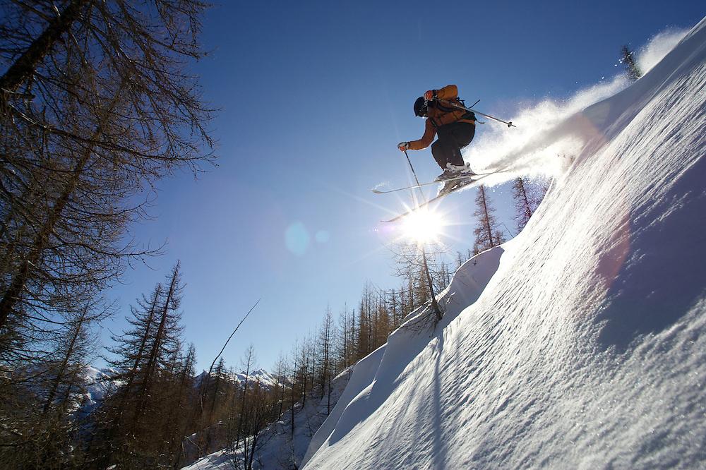 Darren Turner, Skiing, Serre Chevalier, France