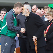 Ireland arrive in Queenstown