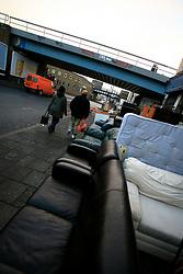 UK ENGLAND LONDON 8JAN09 - Brixton street scene near the Kids & Co social project in south London,..jre/Photo by Jiri Rezac