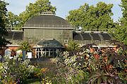 Palmengarten, Eingangsschauhaus, Frankfurt am Main, Hessen, Deutschland | Palmengarten, botanical garden in Frankfurt, Germany