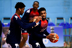 Marcus Delpeche of Bristol Flyers warms up prior to tip off - Photo mandatory by-line: Ryan Hiscott/JMP - 06/12/2019 - BASKETBALL - SGS Wise Arena - Bristol, England - Bristol Flyers v Sheffield Sharks - British Basketball League Championship