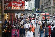 Street photography in New York City, New York