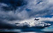 Storm front, Merewether Beach, East Coast Australia, June 28, 2014