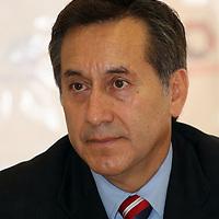 Toluca, México.- Raúl Chaparro Romero, presidente de asociación de empresarios y ciudadanos del Estado de México. Agencia MVT / Arturo Rosales Chávez. (DIGITAL)