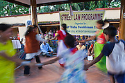 A dance performance by the Street Law Programme organised by CLAP, Committee for Legal Aid to Poor. Cuttack city, Orissa, India.