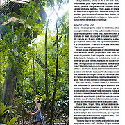 """Guardiões da floresta"", published in Revista Planeta magazine, Brazil, May 2017"