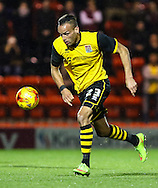Kaid Mohamed of Northampton Town during the Johnstone's Paint Trophy match at the Matchroom Stadium London,<br /> Picture by David Horn/Focus Images Ltd +44 7545 970036<br /> 11/11/2014